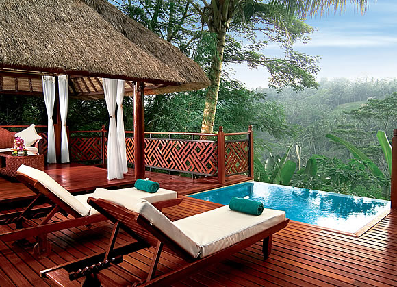 Kupu Kupu Barong River View Pool Villa